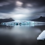 Vatnajökull och glaciärlagunen Fjallsárlón, Island - Foto: Viktor Sundberg