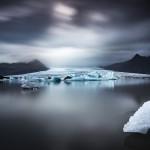 Vatnajökull och glaciärlagunen Fjallsárlón - Foto: Viktor Sundberg