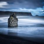 Reynisdrangar fotograferat från Dyrhólaey, Island - Foto: Viktor Sundberg