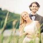Bröllop så in i vassen | Heléne och Patrik - Foto: Viktor Sundberg