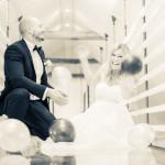 Ballongjakt | Ceclilie och Oskar - Foto: Viktor Sundberg