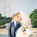 Bröllop vid Tjörnbron | Helena och Kim - Foto: Viktor Sundberg