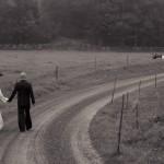 Brudpar i svartvitt | Annika och Pelle - Foto: Viktor Sundberg