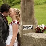 En privat kyss | Gia och Gaston - Foto: Viktor Sundberg