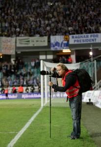 Fotbollsfotografen - Foto: Niklas Olsson