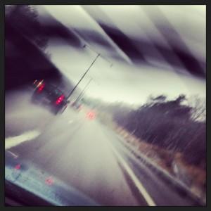 Vädret på vägen dit