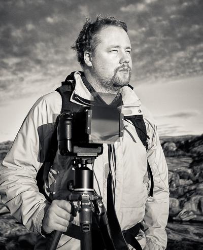 Profilbild Fotograf Viktor Sundberg - Foto: Niklas Olsson