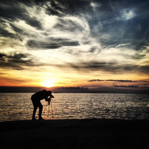 Helgens fotokurs vid kusten