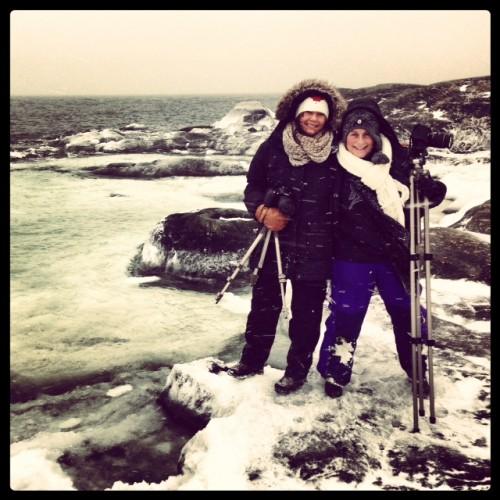 Vinterns fotokurs vid kusten