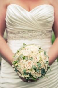 Bröllopsbukett - Foto: Viktor Sundberg