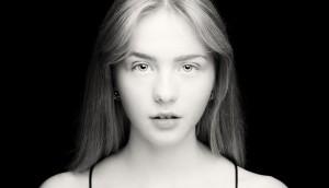 Anna från dagens workshop i ljussättning - Foto: Viktor Sundberg