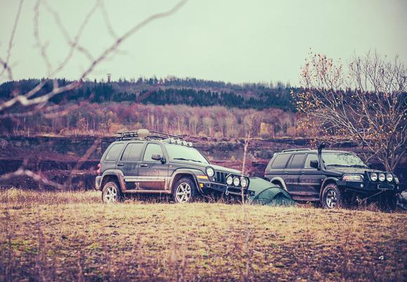Fyrhjulsdrivet på fotoresan till Abisko - Foto: Jonas Wallström