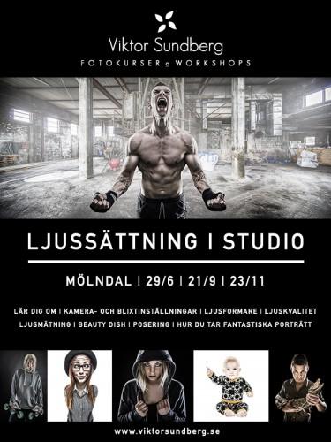 Fotokurs: Ljussättning i Studio
