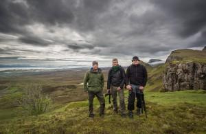 Fotogänget i Skottland - Foto: Viktor Sundberg