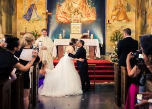 Bröllopskyssen | Vanja och Harry - Foto: Viktor Sundberg