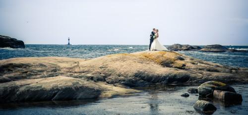 Bröllop vid kusten - Foto: Viktor Sundberg