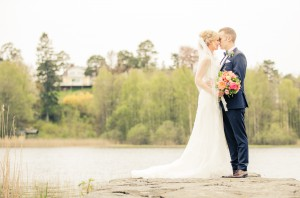 Bröllopsfoto vid Råda Säteri - Lina och Johan - Foto: Viktor Sundberg