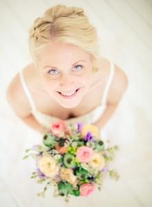 Vacker brud uppifrån - Foto: Viktor Sundberg, bröllopsfotograf Göteborg