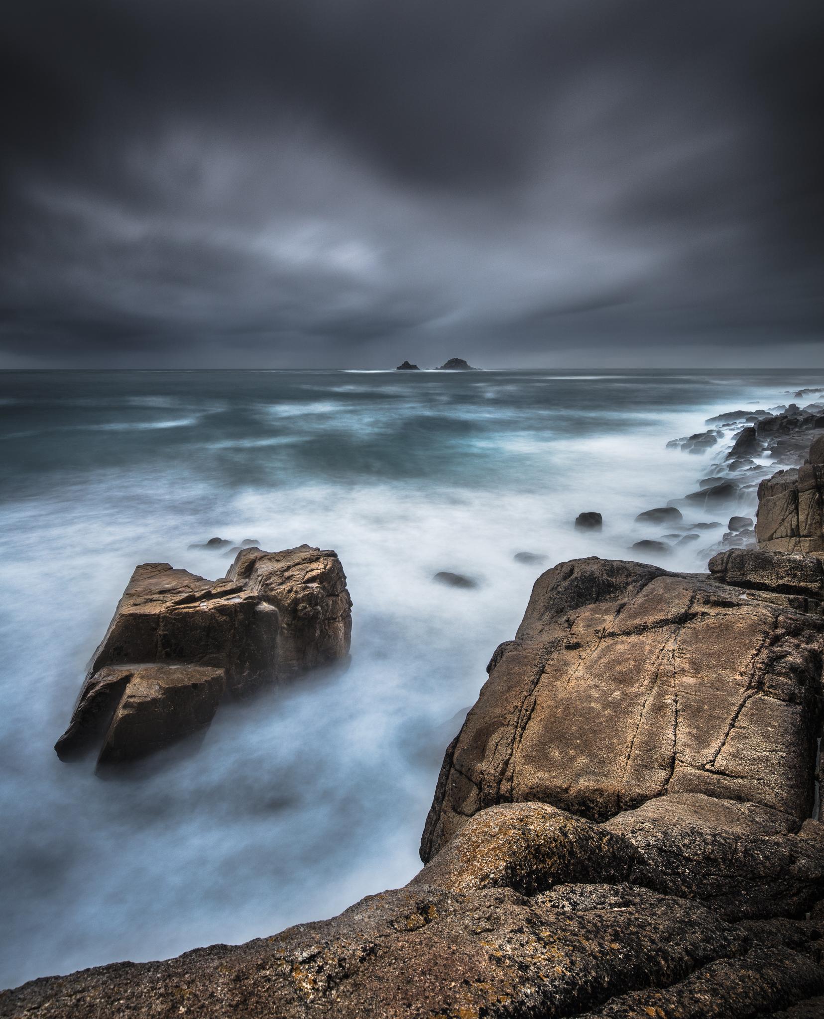 Porth Nanven, Cornwall, England